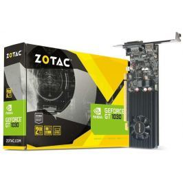 Zotac GeForce GT 1030 Low Profile, 2GB GDDR5, DVI-D, HDMI 2.0b