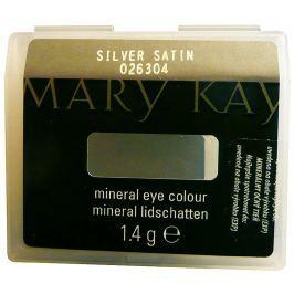 Mary Kay Minerální oční stíny Silver Satin (třpytivý) 1,4 g