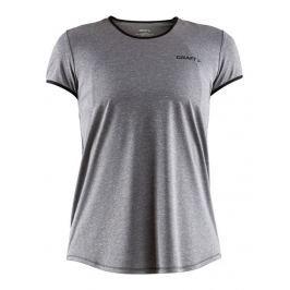 Craft Dámské běžecké triko  Eaze SS W::L; Šedá Dámská trička