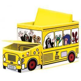 BINO Poškozený obal: Krteček - krabice na hračky autobus  13793 ostatní drobnosti