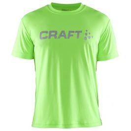 Craft Pánské funkční triko  Prime Logo::M; Tmavě šedá Pánská trička