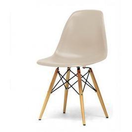 Tempo Kondela Židle, béžová capuccino + buk, CINKLA 2 NEW