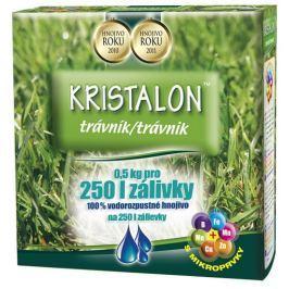 Agro Hnojivo   Kristalon Trávník 0.5 kg Substráty a hnojiva