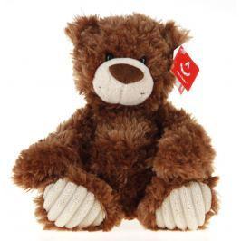 Medvěd plyšový hnědo-bílý 25cm Plyšáci