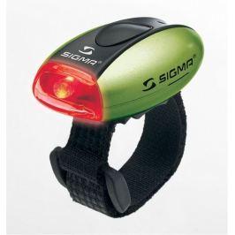 SIGMA Světlo přední MICRO W  diodové zelené Cyklosvítilny