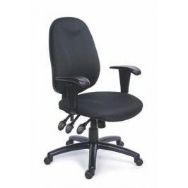 MAYAH Manažerská židle, textilní, černá základna, , Energetic, modrá