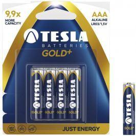TESLA - baterie AAA GOLD+, 4ks, LR03 baterie