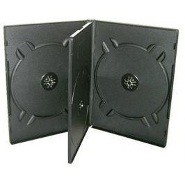 COVER IT OEM Krabička na 4 DVD černá Úložné boxy