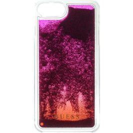 Guess Liquid Glitter Hard Pouzdro Pink Degrade pro iPhone 6/6S/7 Plus