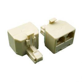 Datacom Rozdvojka UTP CAT3 3xRJ11 (6p4c-1M / 2F) Síťové kabely