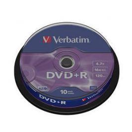 Verbatim DVD+R(10-Pack)Spindle/General Retail/16x/4.7GB DVD média