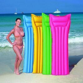 Bestway Matrace  nafukovací, 4 barevné variace  (modrá, zelená, růžová, žlutá), 1 Vodní hračky