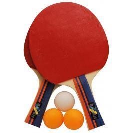 Rulyt Set na pingpong  2ST-01, 2 x raketa, 3 x míč Pingpongové pálky