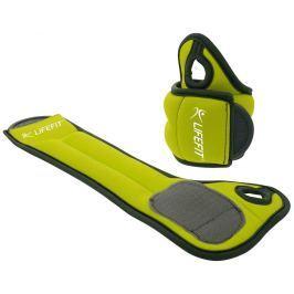 LIFEFIT Neoprenová zátěž  Hand Weights na ruce 2x0,5kg - zelená Ostatní fitness nářadí