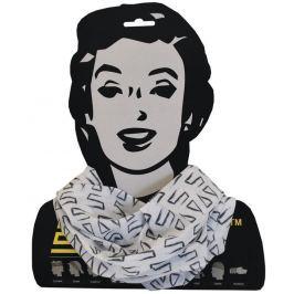 Sulov Sportovní šátek , bílo-černý