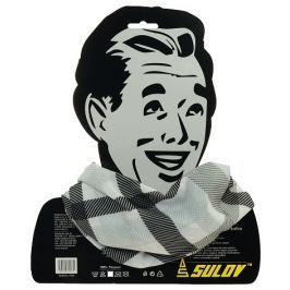 Sulov Sportovní šátek, šedo-černý