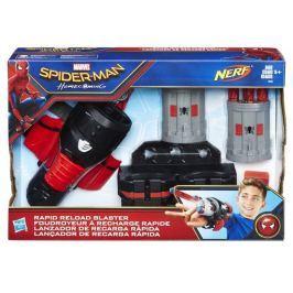 Hasbro Spiderman Nerf Blaster + 6 šipek akční hrdinové, vojáci