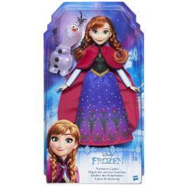 Frozen Princezna Elsa/Anna s třpytivými šaty a kamarádem Panenky a barbie