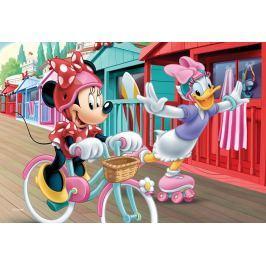 Trefl Dětské puzzle  54 dílků - Minnie a Daisy na zmrzlině Puzzle