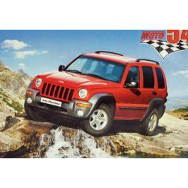 Teddies CASTORLAND Dětské puzzle 54 dílků - Jeep Cherokee Puzzle