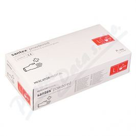 MERCATOR MEDICAL Rukavice latexové Santex powdered L 100ks