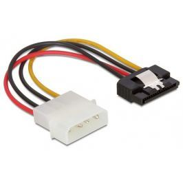 DeLock Cable Power SATA HDD > Molex 4 pin male with metal clip straight 15cm Interní kabely do PC