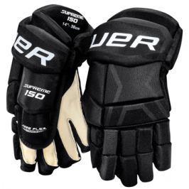 Bauer Rukavice  Supreme 150 junior::11 palců; černo-bílá