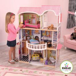 KidKraft domeček pro panenky - Magnolia mansion nábytek a panenky