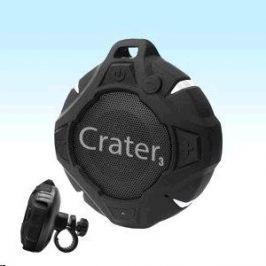 Orava Bluetooth reproduktor  + držák na kolo, černý Crater-3 Black