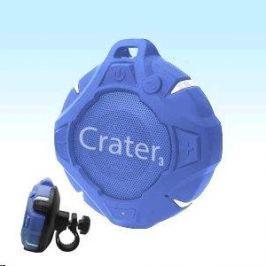 Orava Bluetooth reproduktor  + držák na kolo, modrý Crater-3 Reprosoustavy a reproduktory