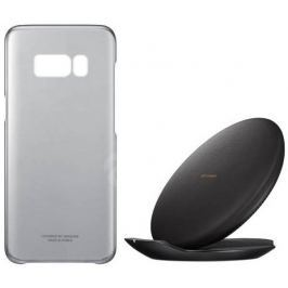Samsung Kit (WCS+ClearCover) pro S8 Black