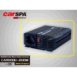 Carspa Napěťový měnič  CAR800U-242 24V/230V+USB 800W, modifikovaná sinus (náhrada