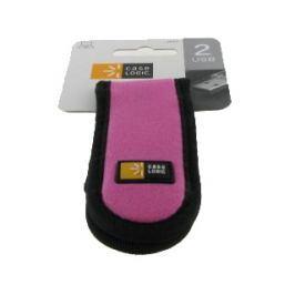 Solight CaseLogic pouzdro pro 2 USB pink