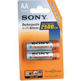 Sony NiMH AA nabíjecí baterie 2500mAh- 2ks