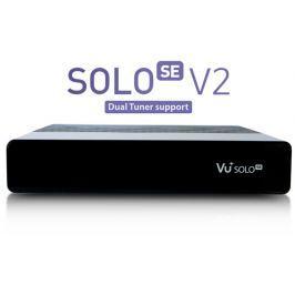 AB-COM Vu+ Solo Se V2 čierny ( 1x DVB-T2 DUAL)
