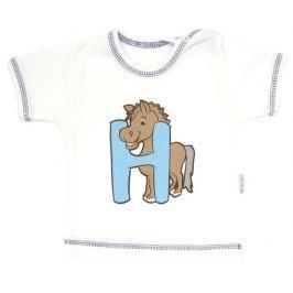 Mamatti Tričko/košilka krátký rukáv  - Zvířátka, 86 (12-18m)