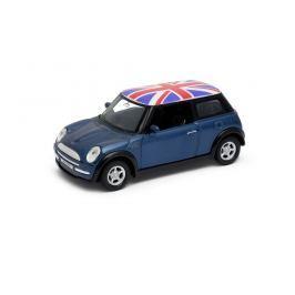 Welly - Mini Cooper (Velká Británie) model 1:34 vínový