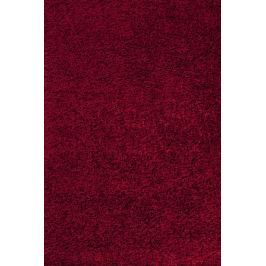 Kusový koberec Life Shaggy 1500 red, Kulatý 160 cm průměr