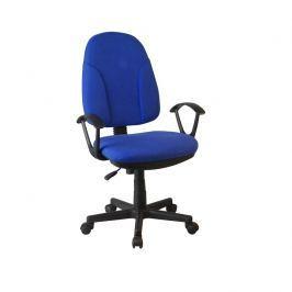 Tempo Kondela Kancelářská židle, modrá látka, DEVRI