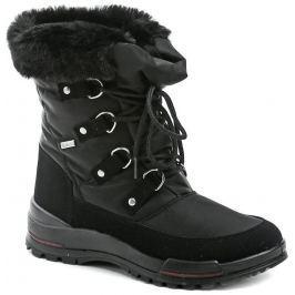 Jacalu 6221.15 černé dámské zimní boty, 37