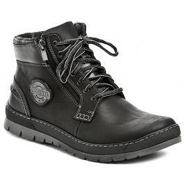 Mateos 448 černé pánské zimní boty, 45