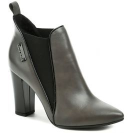 Hilby 1057 šedá dámská kotníčková obuv, 40