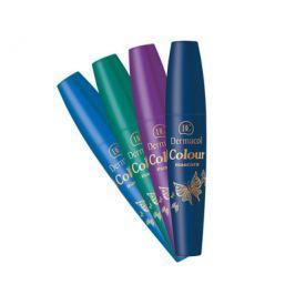 Dermacol Tvarující řasenka jedinečného odstínu (Colour Mascara) 10 ml, Electric Blue
