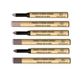Dermacol Pudrové stíny na obočí (Powder Eyebrow Shadow) 1 g, č. 1