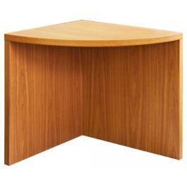 Tempo Kondela Rohový obloukový stůl, třešeň, OSCAR T05