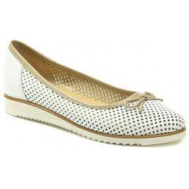 Di Janno De plus 9763-K bílo béžová dámská nadměrná obuv, 41