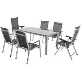 Garland - nábytek Garland Elements 6+ sestava nábytku (1x stůl Elements Creatop-Lite + 4x stoh. + 2x pol. židle Elemen