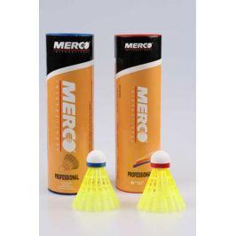 Badminton míčky Merco PROFESIONAL  6ks, zelená