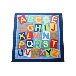 Dětský koberec Abeceda, Abeceda 200x200 cm