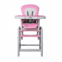 Coto baby Jídelní stoleček  STARS Šnek  - růžový